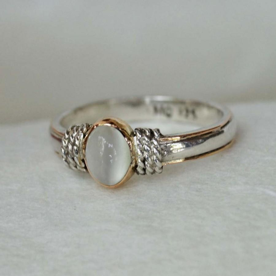 moonstone engagement rings moonstone wedding ring sets Ditch the Diamond Alternative Engagement Rings Featuring a Colored Stone