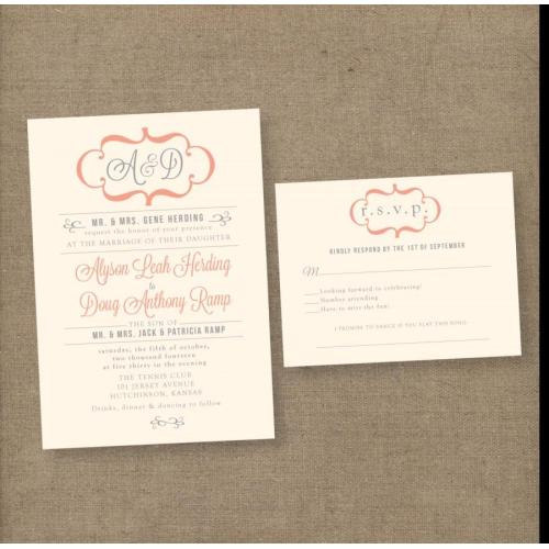 Medium Crop Of Vintage Wedding Invitations