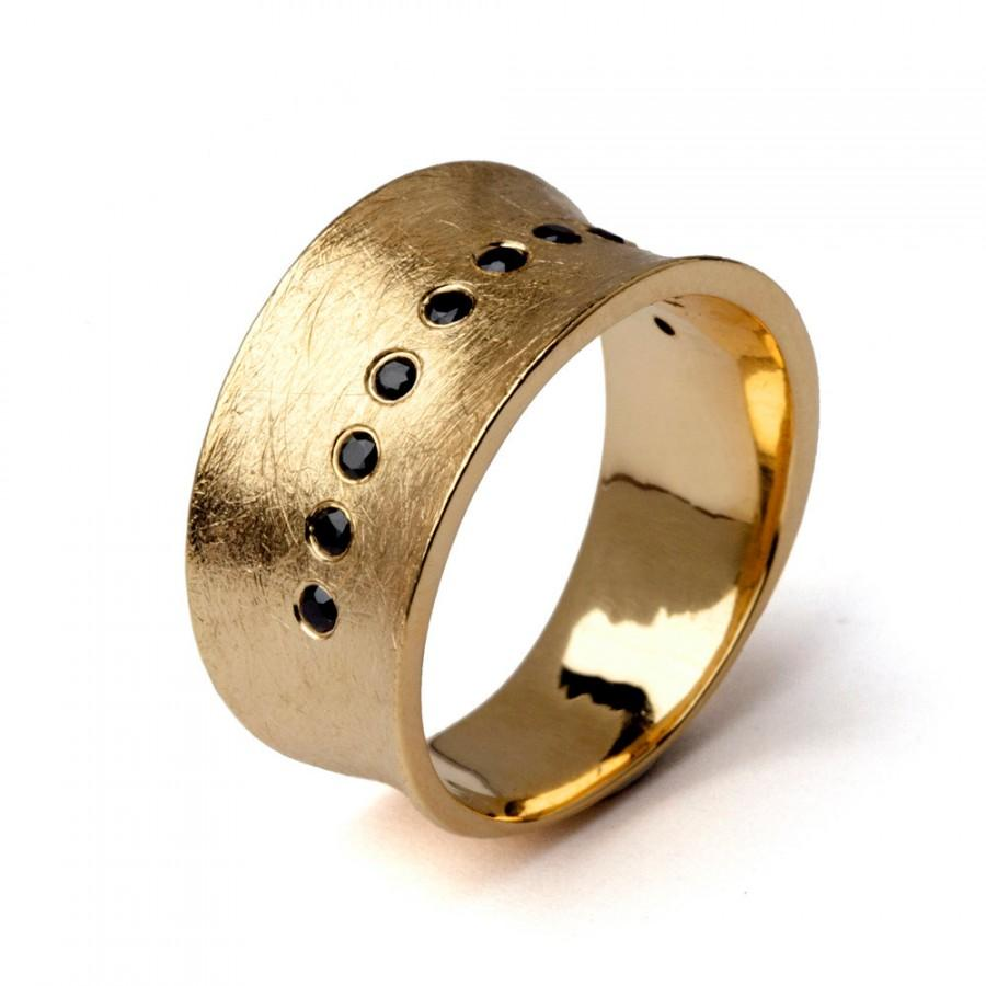 mens rough diamond wide band wedding ring wide wedding bands Mens Rough Diamond Wide Band Wedding Ring Wallis Reid