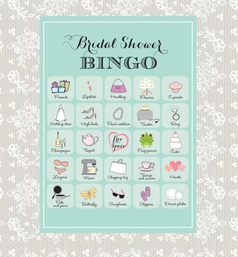 Large Of Bridal Shower Bingo