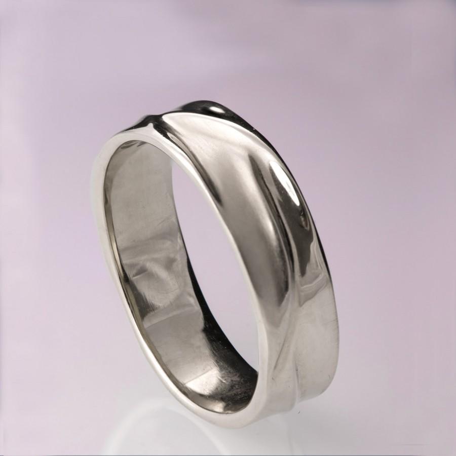 platinum wedding band Men s Eternity Wedding Band Channel Set Princess Diamond Ring Platinum 1 7Ct