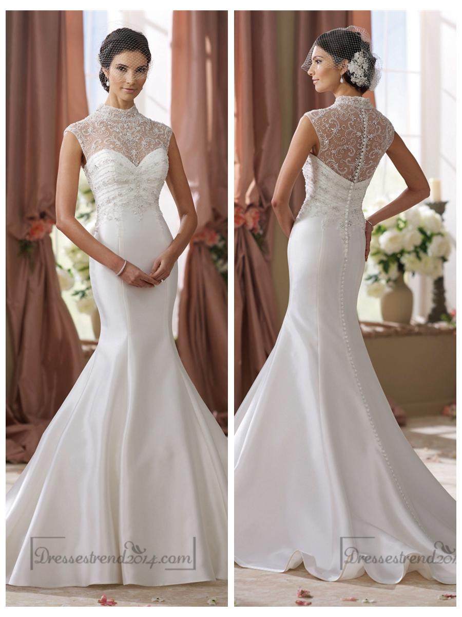 Fullsize Of Illusion Wedding Dresses