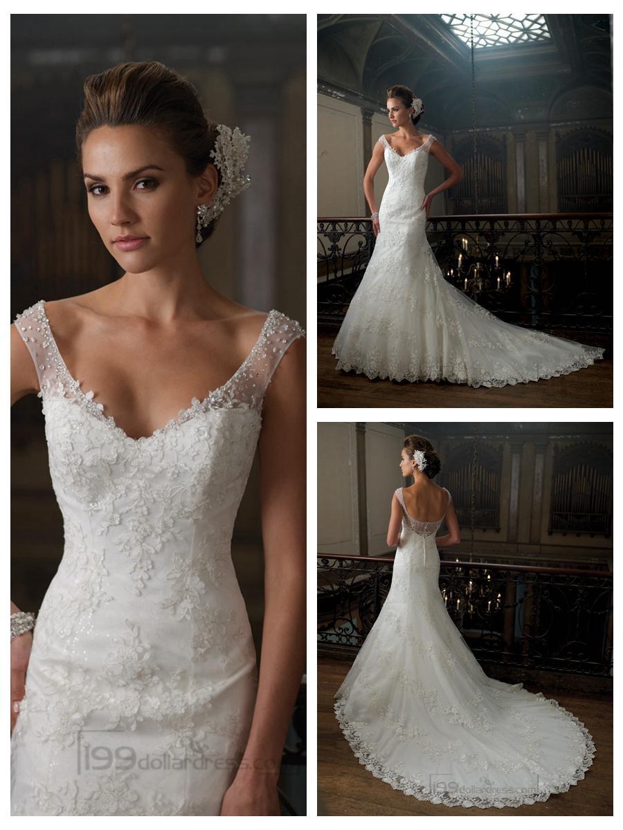 cap sleeve wedding dresses spring wedding dress cap sleeves Ladylike Lace The lace cap sleeves