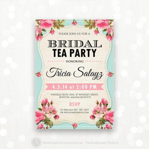 Medium Of Tea Party Bridal Shower