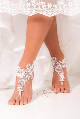 foot jewelry beach wedding sandals beach wedding shoes bridal beach shoes footless sandles destination wedding zoom