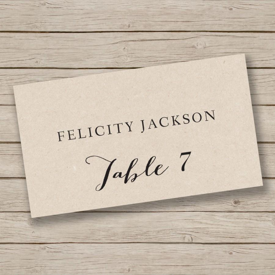 Fullsize Of Place Cards Template