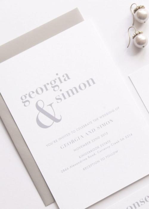 Medium Of Simple Wedding Invitations