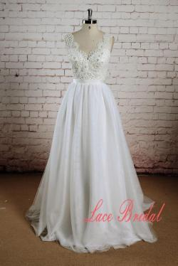 Startling Sheerback Sleeveless Wedding Gown Beading Bodice Wedding Dress Tulle Skirt Bridal Gown Beading Bodice Wedding Dress Tulle Skirt Bridal Gown
