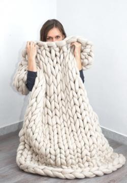 Small Of Merino Wool Blanket