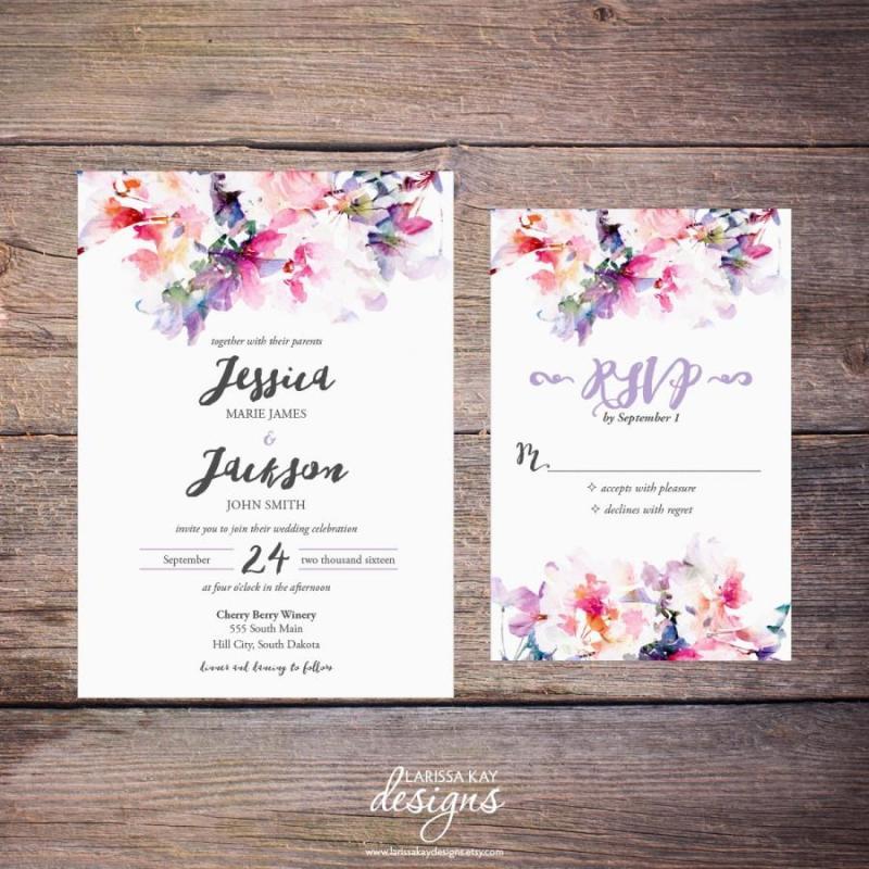 Large Of Diy Wedding Invitations