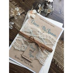 Small Crop Of Lace Wedding Invitations
