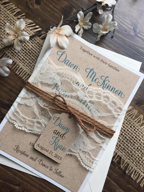Groovy Rustic Wedding Vintage Wedding Shabby Lace Wedding Barn Wedding Invitation Rustic Wedding Vintage Wedding Shabby Lace Wedding Invitations Cricut Lace Wedding Invitations Kits