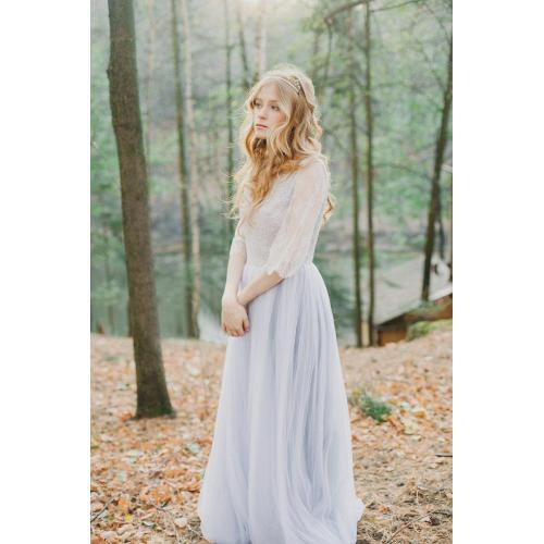 Medium Crop Of Lavender Wedding Dress