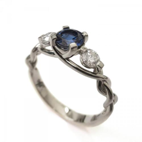 Medium Of Gothic Wedding Rings