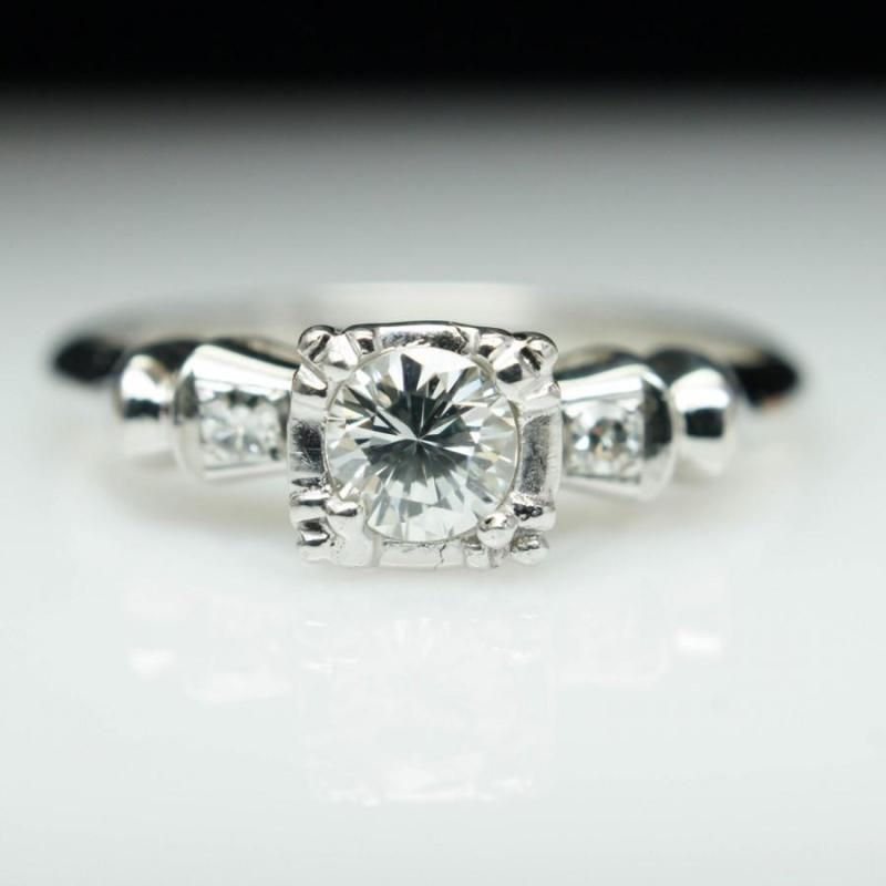 Large Of Art Deco Engagement Rings