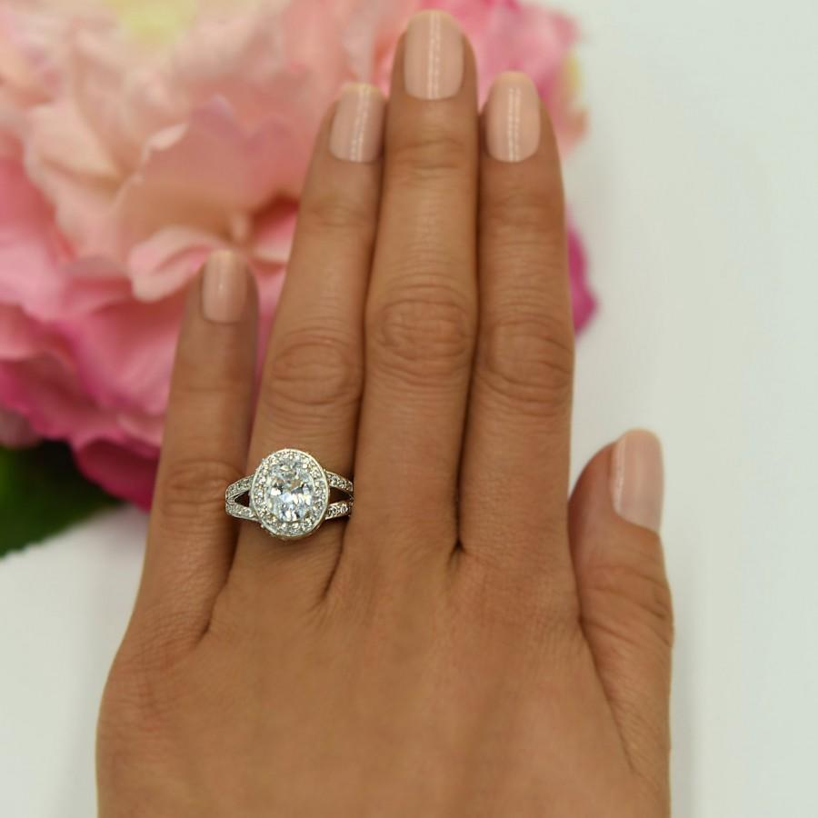 curved wedding band contour diamond wedding band Pear Shaped Diamond Engagement Ring with Matching Gold Diamond Wedding Band The 3rd Eye