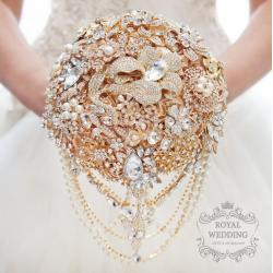 Small Crop Of Rose Gold Wedding