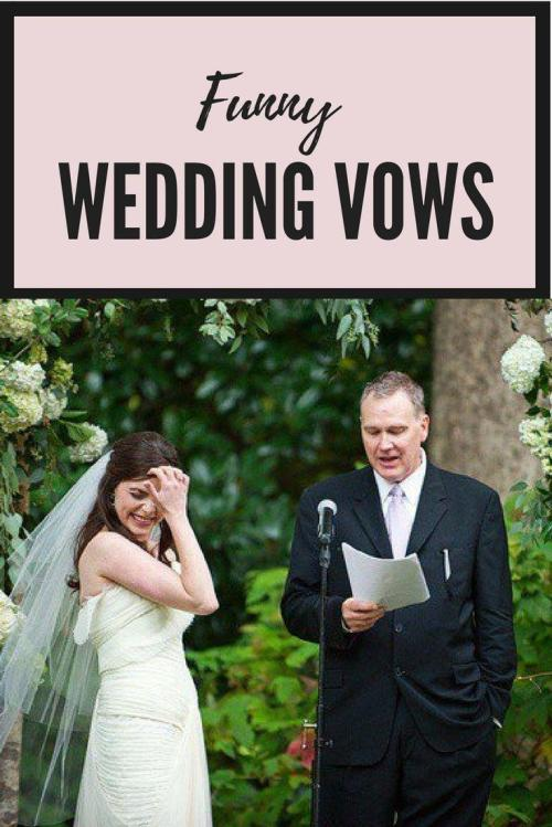 Medium Of Funny Wedding Vows