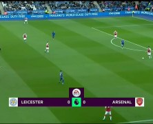 Xem lại: Leicester City vs Arsenal