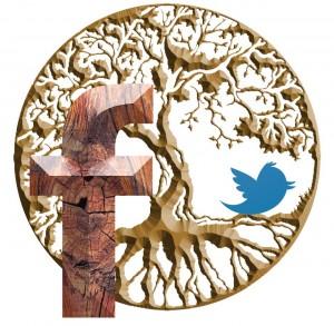 Twitter and Facebook help grow an organic network