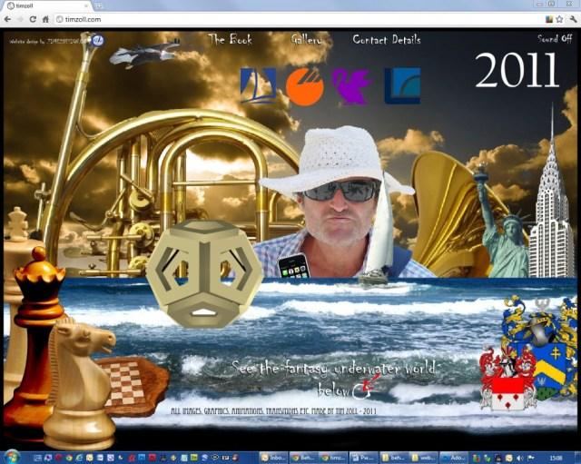Tim Zoll, Website Design