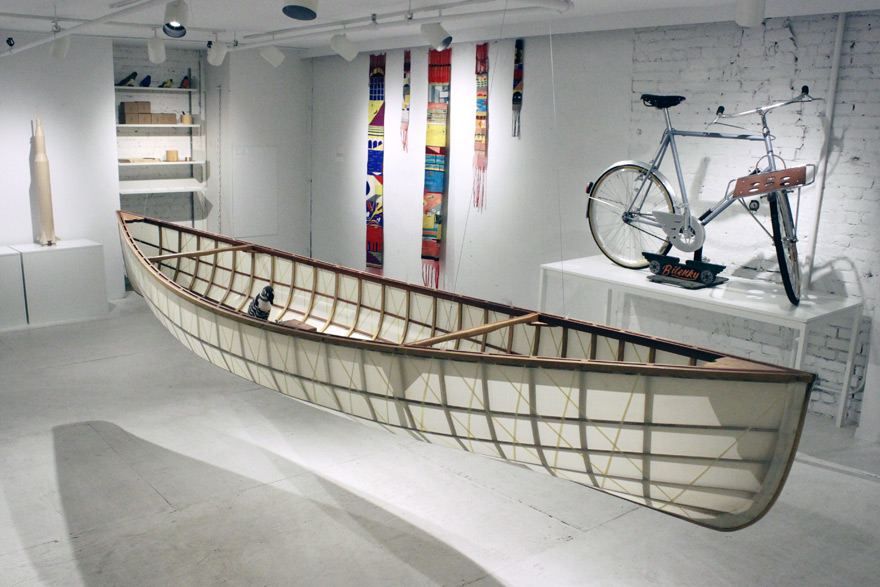 Canoe by Colgate Searle & Matthias Pliessnig :: via Core77
