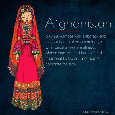 These Illustrations Of Brides From Around The World Prove ...