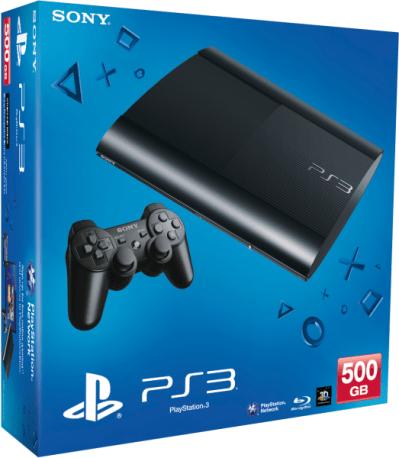 Sony PlayStation 3 Slim 500GB Console Games Consoles   Zavvi