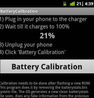 Learn how to calibrate the battery on your Android device