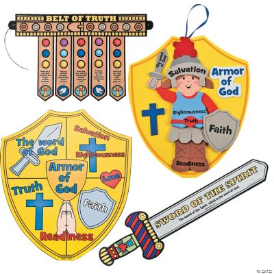 Full Armor of God Crafts Assortment