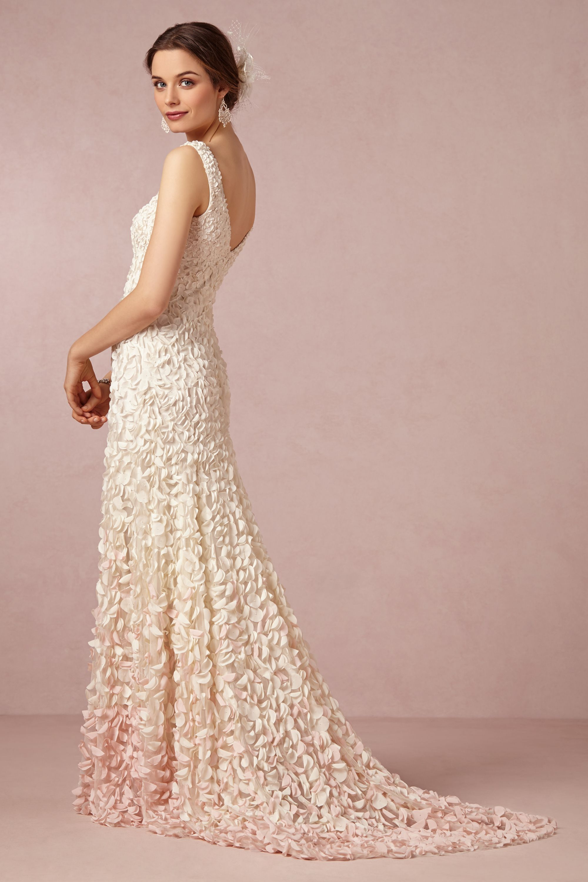 emma gown ombre wedding dress blush Emma Gown BHLDN