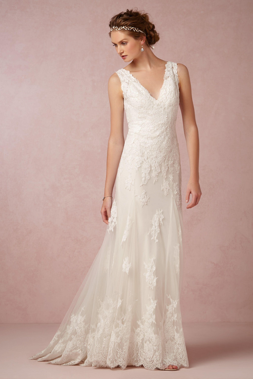 francine gown ivory wedding dress ivory ivory Francine Gown BHLDN
