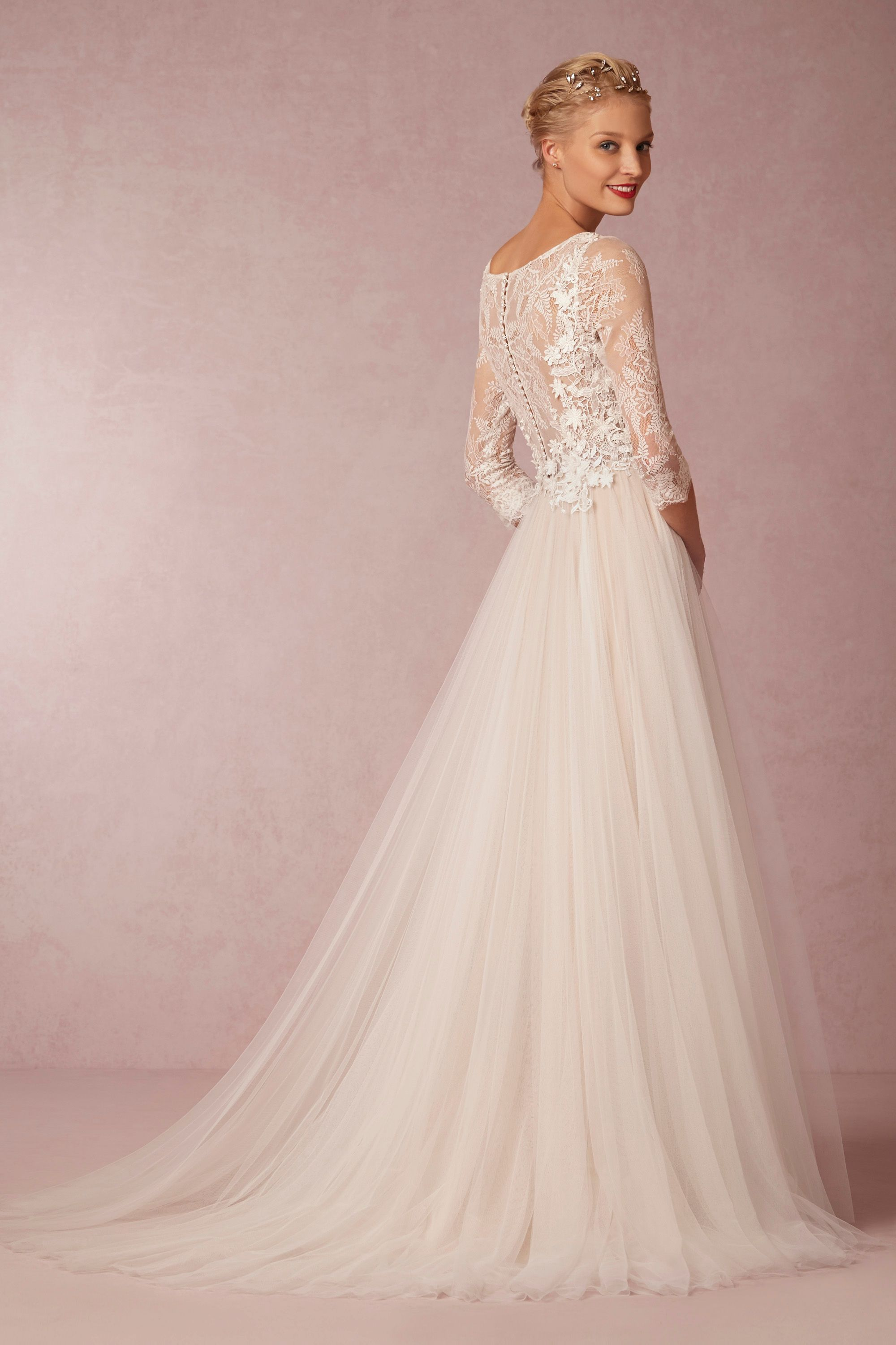 amelie gown wedding dress online Watters Ivory Nude Amelie Gown BHLDN