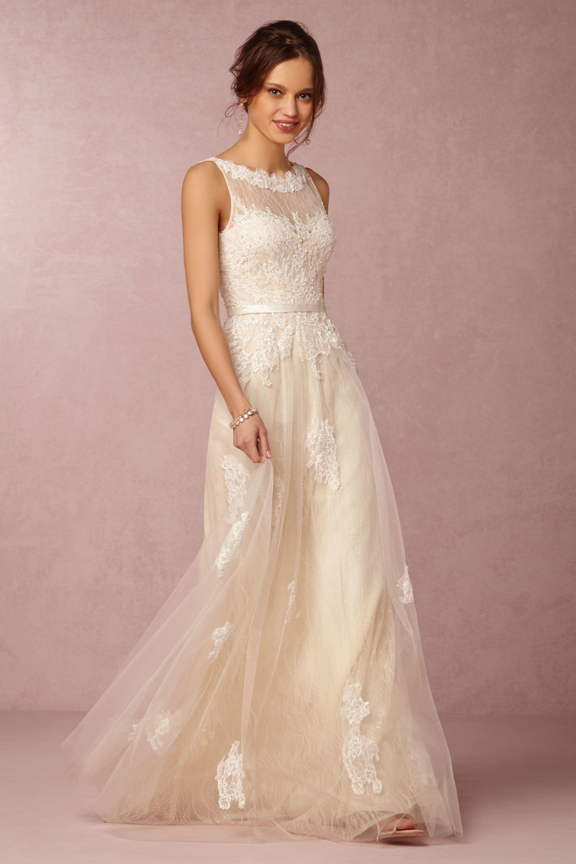 georgia gown wedding gowns Ivory Georgia Gown BHLDN