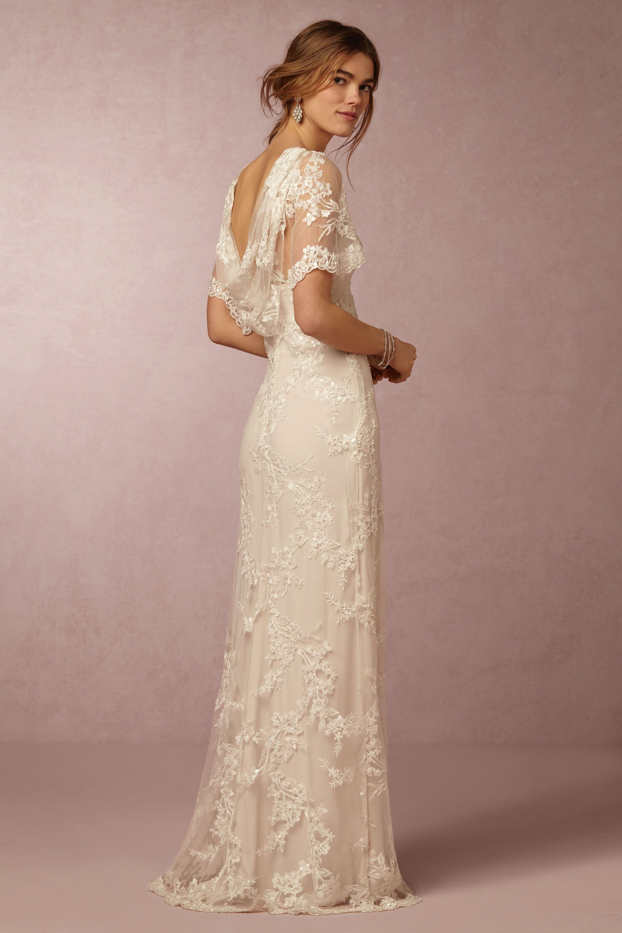 estella gown affordable wedding dresses Marchesa Notte Ivory Estella Gown BHLDN