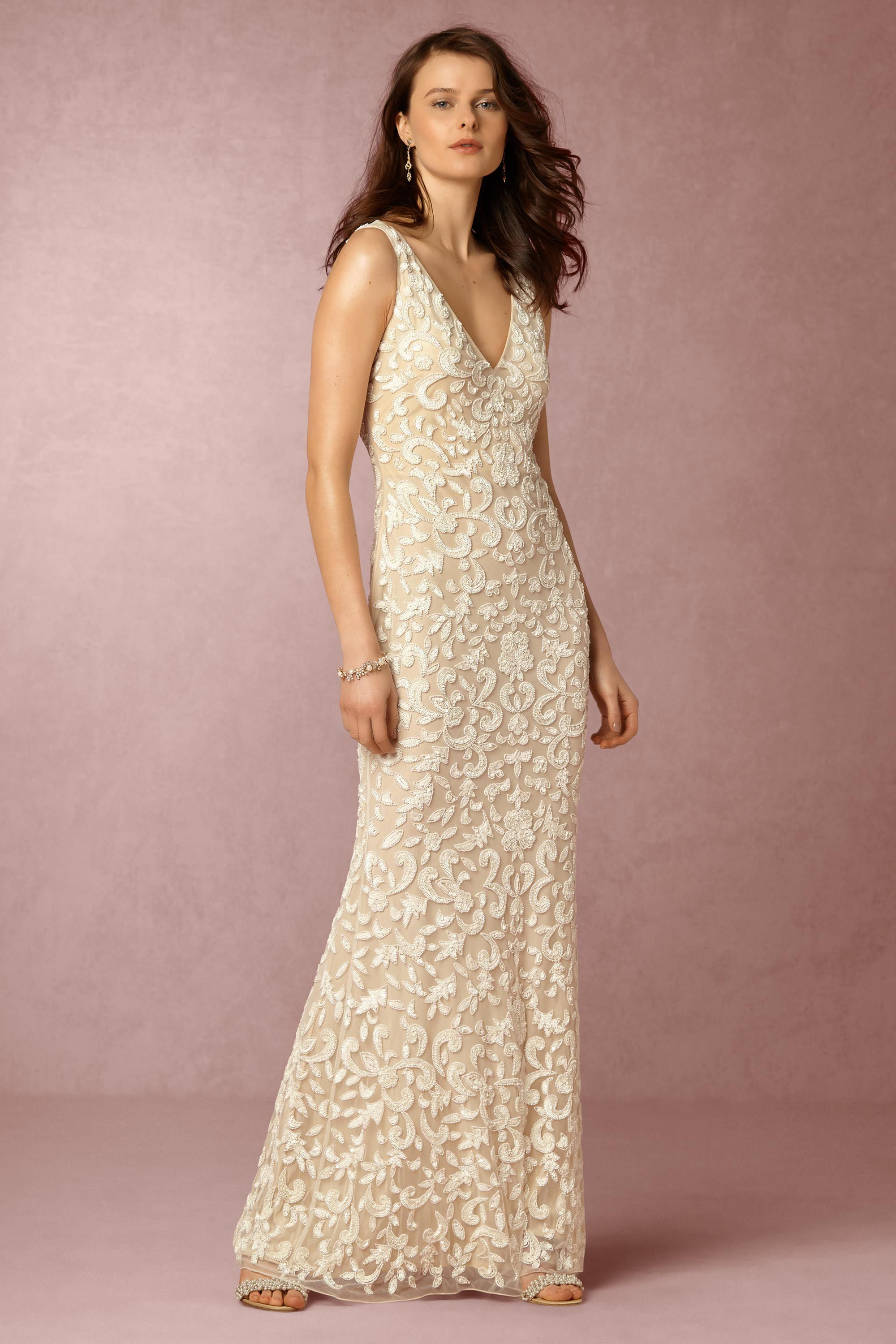 meghan gown cheapest wedding dresses Ivory nude Meghan Gown BHLDN