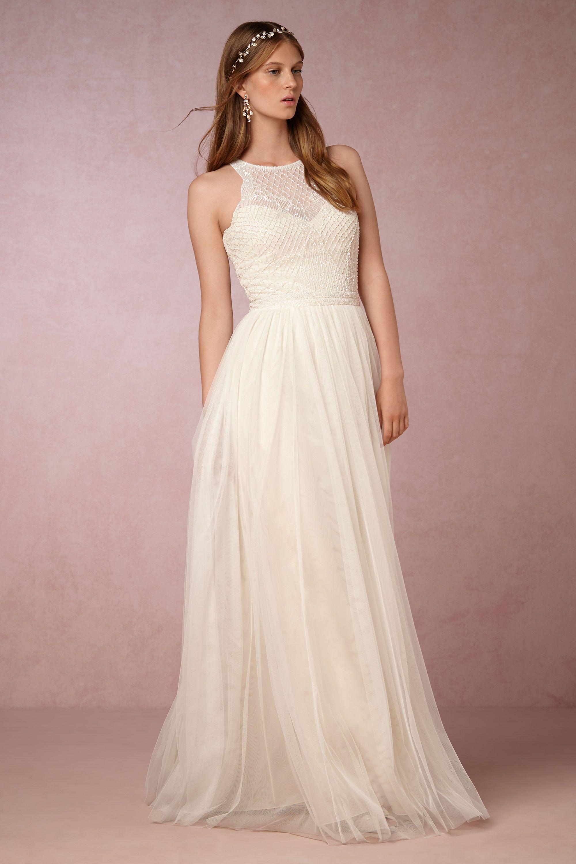 carmela gown wedding gowns Etoile Ivory Cream Carmela Gown BHLDN