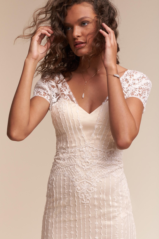 bride wedding dresses sleeves wedding dress cap sleeves Selah Gown Selah Gown