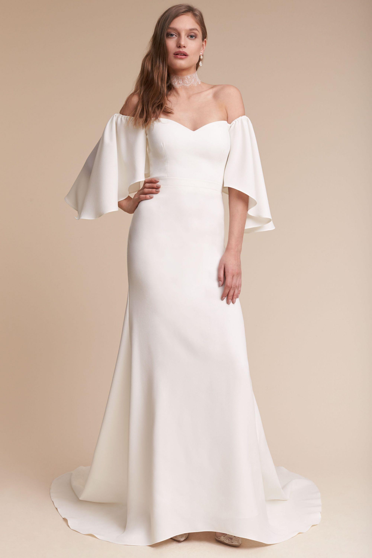 sascha gown wedding dresse Ivory Sascha Gown BHLDN