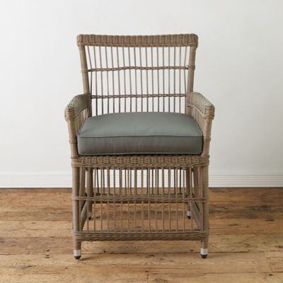 outdoor chairs wicker kitchen chairs Product offer badge Trellis Weave All Weather Wicker Dining Chair