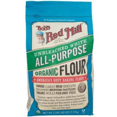 039978029911 UPC - Bob's Red Mill Organic Unbleached White Flour 4x5lb | UPC Lookup