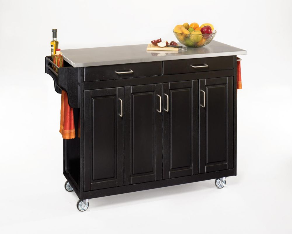 Home Styles Grand Torino Kitchen Island | The Home Depot ...