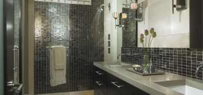 Ann Sacks Glass Tile Backsplash Profile Manufactured Exclusively For Throughout Decor