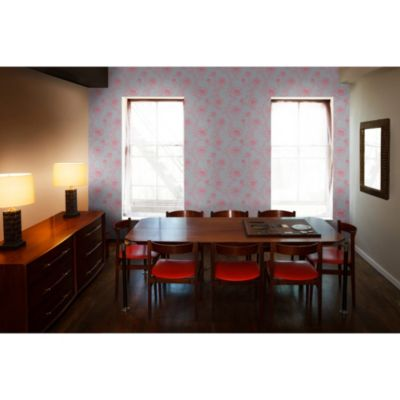 Tempaper® Removable Wallpaper in Peonies Rouge - Bed Bath & Beyond