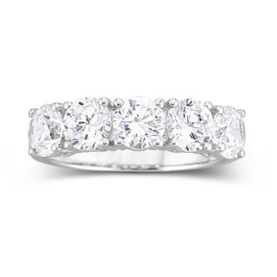 Wedding 20Bands jcpenney jewelry wedding rings T W Cubic Zirconia Wedding Ring JCPenney