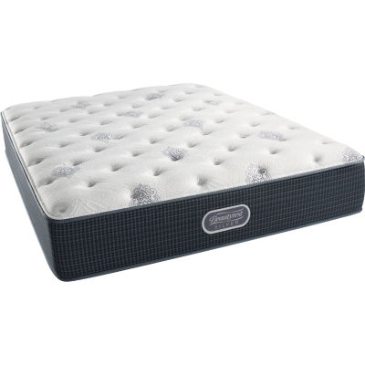 Simmons Beautyrest Silver Snowhaven Plush Mattress Only ...