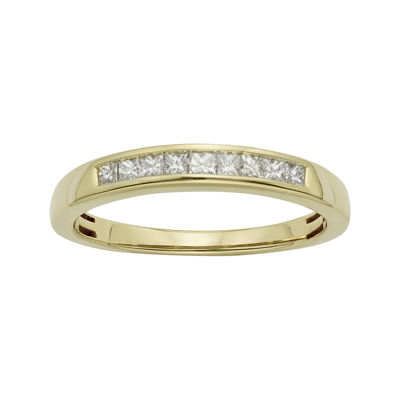 Wedding 20Bands jcpenney wedding ring sets T W Certified Diamonds 14K Yellow Gold Wedding Band Ring JCPenney