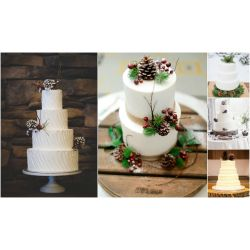 Small Crop Of Rustic Wedding Cake