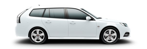Saab 9-3 Griffin Aero, 7 x 17&quot; Alu 88