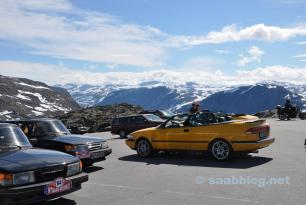 IntSaab2015: Day 5 / Tag 5 Olden-Trollstigen
